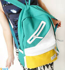 NEW Women Canvas Backpack Bag Schoolbag Bookbag Totes Handbag Campus Cute Sport
