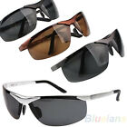 Men Boy Police Solider Style Framed Protective Polarized Sunglasses Glasses BD2A