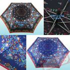 2013 JAPAN HELLO KITTY COLORFUL 3 FOLD WINDPROOF UMBRELLA W/ BAG 5505