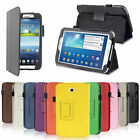"""SMART LEATHER CASE COVER FOR SAMSUNG GALAXY TAB (7"""", 8"""" and 10.1"""" tablets)"""