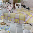 Home Waterproof  Oil High Temperature Resistant Pvc Table Linen Tablecloth
