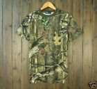Mens Quick-drying breathable bionic Military camouflage T-shirt Hunting Fishing