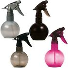 Sibel Hairdressing Ball Water Spray Bottle - SILVER, PINK or SMOKED Available