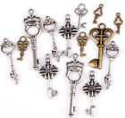 Charm 100g(about 90pcs) Lots Mixed Keys Shape Pendants
