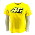 Official Valentino Rossi VR46 Yellow T-Shirt Moto GP