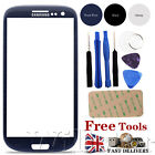 FRONT OUTER SCREEN GLASS LENS REPLACEMENT FOR SAMSUNG GALAXY I9300 S3 FREE TOOLS
