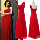 2015 NEW SALE Formal Long Beads Wedding Evening Dress Prom Party Bridesmaid Gown