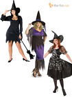 Ladies Sexy Plus Size Witch Costume Hat Halloween Womens Outfit Size 16 18 20 22