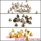 Acrylic Spike Rivets Cone Sew on Studs clothes shoes belts bags UK