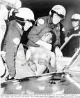 "1965 LAPD LOS ANGELES ""NEGRO"" RIOT PHOTOGRAPH"
