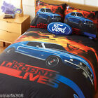 Ford Mustang the Legend Lives Quilt Cover Set - Great Gift Idea!