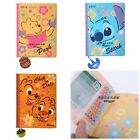 HK 2014 DISNEY WINNIE THE POOH STITCH 10 X 15 COLOR DIARY/PVC SCHEDULE BOOK