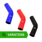 8mm -Silicone 45 Degree Elbow Hose, Silicone Pipe Bend Coolant Radiator Water