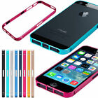 ULTRA THIN SLIM ALUMINUM FRAME METAL BUMPER CASE COVER FOR IPHONE 4G 4S & 5G 5S
