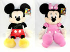 "Genuine Official Disney Large Jumbo 30"" 75cm Mickey Minnie Mouse Plush Soft Toy"
