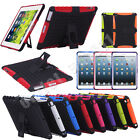 For iPad mini iPad 2 3 4 Strong Heavy Durable Tradesman TPU Stand Case Cover