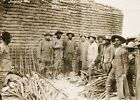 1914 PANCHO VILLA ON MUTUAL FILM MOVIE SET PHOTO Historical Largest Sizes