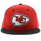 New Era 5950 KANSAS CITY CHIEFS 2 Tone Team Cap NFL Fitted Hat 2Tone 59Fifty Red on eBay
