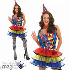 ADULT LADIES SEXY HALLOWEEN CUTIE CIRCUS CLOWN TUTU WOMENS FANCY DRESS COSTUME