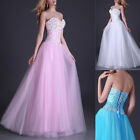 2013 Formal Pink/blue Evening Ball Cocktail Prom Dress Bridesmaid Dresses Gown