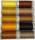 GUTERMANN EXTRA STRONG UPHOLSTERY SEWING THREAD 100M - YELLOW-ORANGE-BROWN