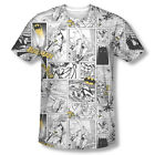 New Batman Dark Knight Official DC Comics Sublimation ALL OVER Fron T-shirt top