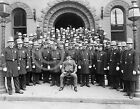 1909 NYPD GROUP PORTRAIT NEW YORK CITY POLICE PHOTO Historical Largest Size