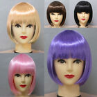 NEW LADIES FANCY DRESS WIG HALLOWEEN COSPLAY PARTY COSTUME OUTFIT ACCESSORY FREE