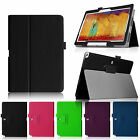 Folio Slim Smart Leather Cover Case For Samsung Galaxy Note 10.1 2014 Edition