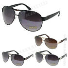 Men's Classic Aviator Fashion Sunglasses Driving Black Silver Gold Eyewear New