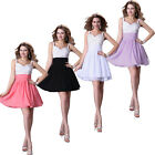 Sweetheart Short Hot Dress Bridesmaid  Bridal Prom Ball Party Evening Cocktail