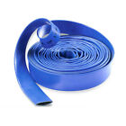 Layflat Hose Blue PVC Water Delivery Pipe Discharge Pump Irrigation