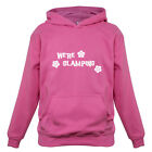 We're Glamping - Kids / Childrens Hoodie - Camping - Camper - Glamourous