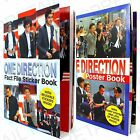 ★ONE DIRECTION★ FACT FILE STICKER OR POSTER BOOK 1D Harry Zayn Liam Louis Niall