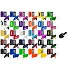 Hybrid Heavy Duty Hard/Soft Case Cover with Stand+Mini Stylus for iPhone 4 4S 4G