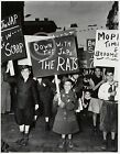 1940s ANTI JAPANESE PRO INTERNMENT CHILD RACIST SIGN WEEGEE PHOTO Largest Sizes