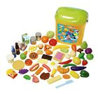 Giant FOOD CASE Play Food Set by Playgo (60 Pcs) ~NEW~