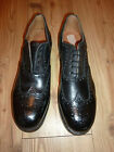 BRITISH ARMY ISSUE HIGHLAND BROGUES FULLY STUDDED SOLES VARIOUS SIZES