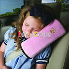 Safety Car Seat Belt Shoulder Harness Cushion Sleep Pad Cover Pillow
