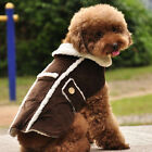 Teddy Jacket Pet Clothes Coat Velvet Warm Winter Pet Clothes Dog Cloak Size L XL