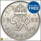1937 TO 1952 GEORGE VI LUCKY SILVER SIXPENCES CHOICE OF YEAR / DATE