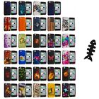 For Apple iPhone 5C Hard Snap-On Design Rubberized Case Cover+Cable Wrap