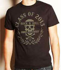 Lucky 13 shirt class of rock n roll high school 2013 punk rock black skull S-4XL