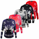 SALE ITEM WAS £29.99 Alice Soft One Size Womens Reindeer Xmas Jumper Sweater