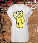 Pudsey Bear T shirt, Chldren In Need T shirt, Kids, Childrens Adults Pudsey Wave