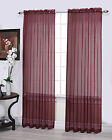 Regal Home Collections Sheer Window Curtains By GoodGram® - Assorted Colors