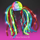 Light Up Flashing Noodle Crazy Hair LED