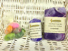Soap-Felted Wool-Silk-Mitt-Exfoliating-Olive Oil Artisans-Gift Set-Six Fragrance