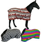 Cob Pony Full No Neck Cooler Stable Show Travel Exercise Fleece Rug Sheet 4'3-7'