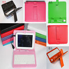 Removeable Universal USB Keyboard Leather Case For Ipad Mini/Android Tablet 7""